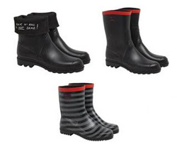 agnés b. & Aigle collaborate for limited edition wellington boots