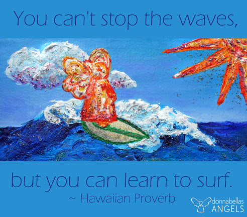 Learn to Surf Life's Waves