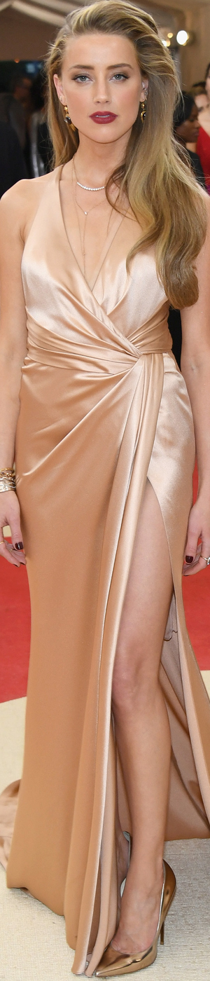 Amber Heard 2016 MET Gala