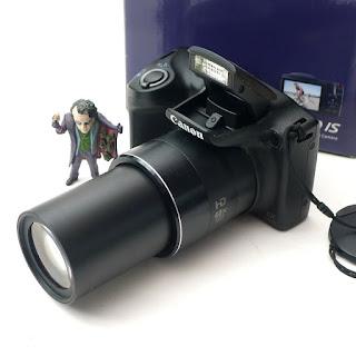 Kamera Prosumer Canon SX410 IS Fullset