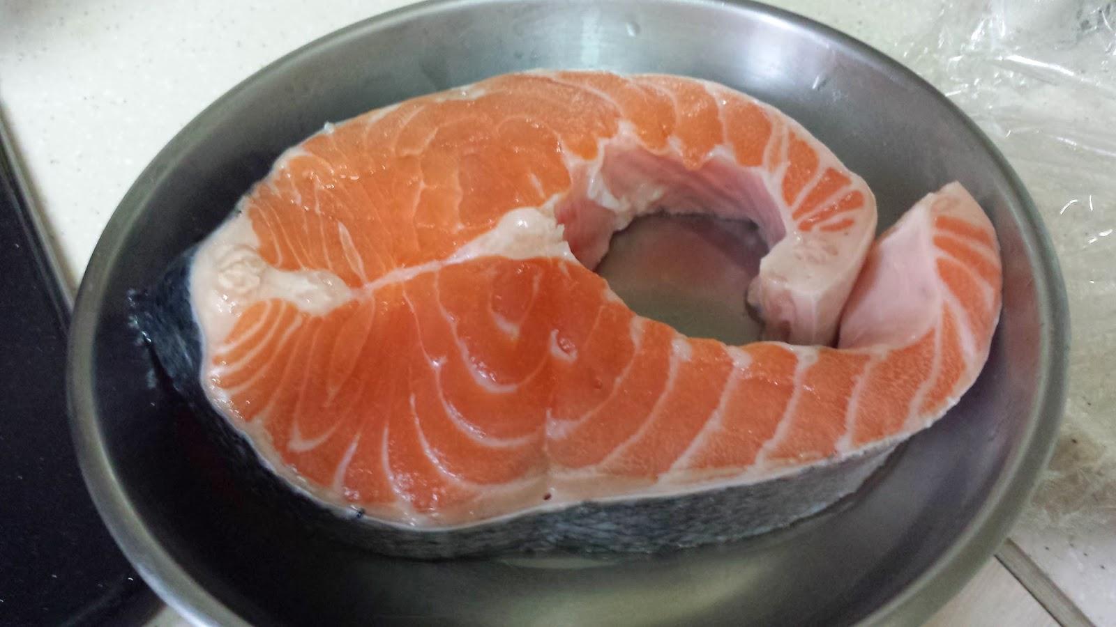 Eric's Bakery: 鹽燒三文魚扒