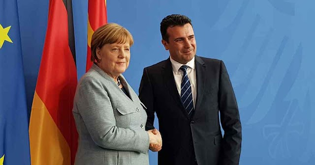 Deutschland will das EU Verhandlungen mit Mazedonien eröffnet
