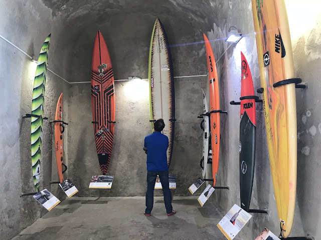 Surfer Wall