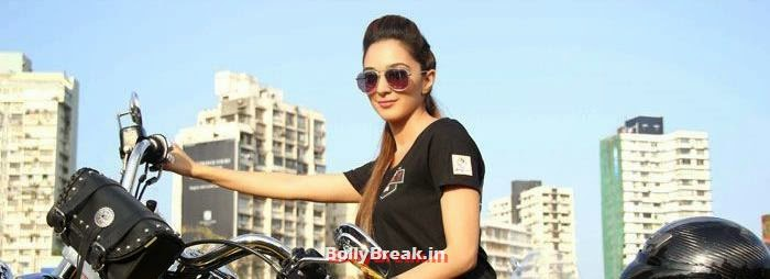 Kiara Advani, Fugly Cast Promote Their Film With a Bike Rally