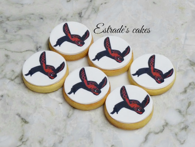 galletas decoradas con tortuga impresa 5
