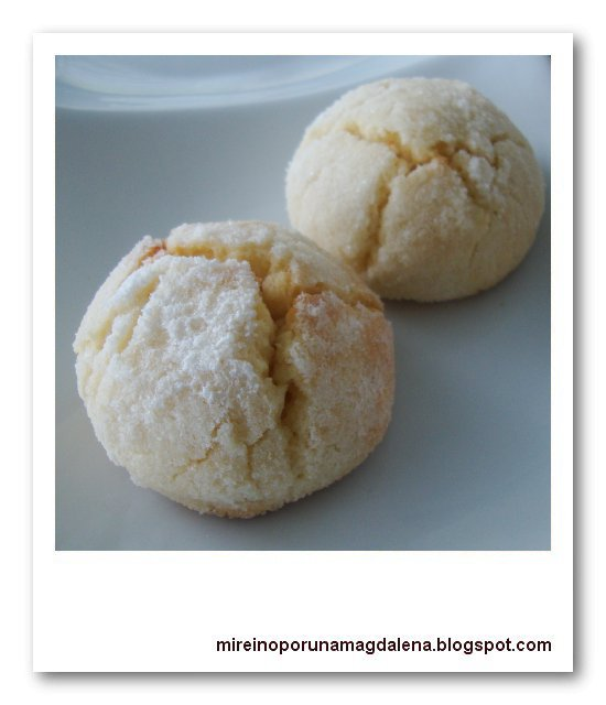 Galletas de limón, Craquelés au citron