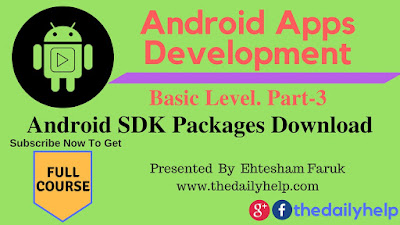 Android SDK Packages download