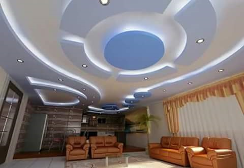 25 led indirect lighting ideas for false ceiling designs for False ceiling lighting ideas