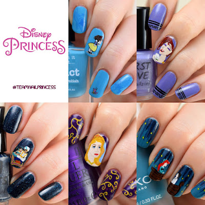 Disney Princess Nail Art Nailzini
