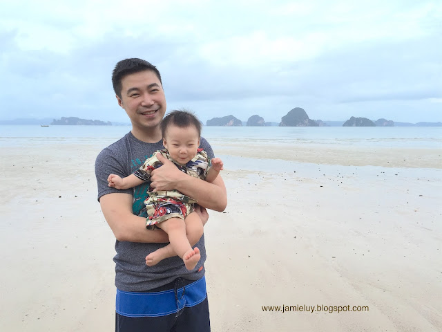Family at The Tubkaak Boutique Resort in Krabi, Thailand
