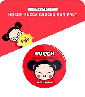HOCOS PUCCA CHU CHU SUN PACT SPF43 PA+++