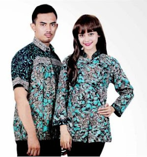 Baju Batik Formal Wanita