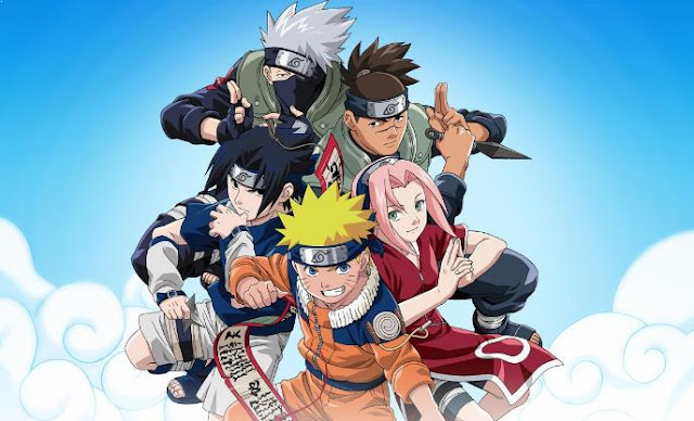 Naruto - Top Best Anime Like Black Clover list