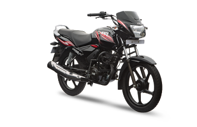 TVS Star City Plus 110cc Black image