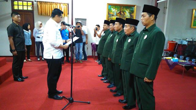 Wabup Lantik Pengurus Baznas Kabupaten PALI