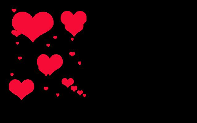 Corazones Png Fondo Transparente Para San Valentin,brushes