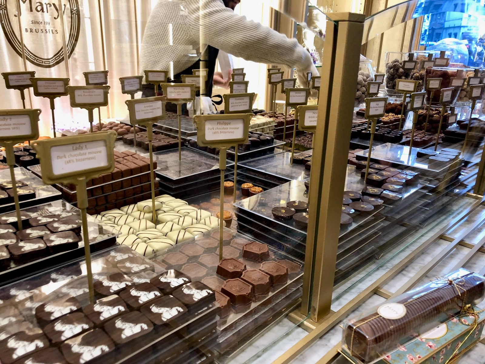 Mary chocolate shop in Brussels, Belgium