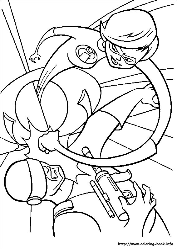 Incredibles coloring pages free coloring pages for The incredibles coloring pages