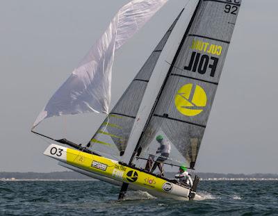 Solune Robert et Antoine Rucard repartent vainqueurs des Flying Phantom Series Baie de Quiberon