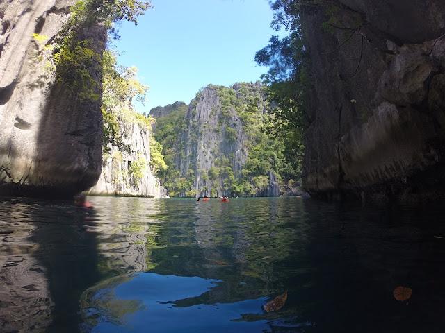 twin lagoon coron philippines palawan