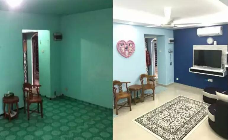 6 Foto Bagaimana Idea Wanita Ini Ubahsuai Deko Rumah Flat Pkns Dan Hasilnya Sungguh Wow