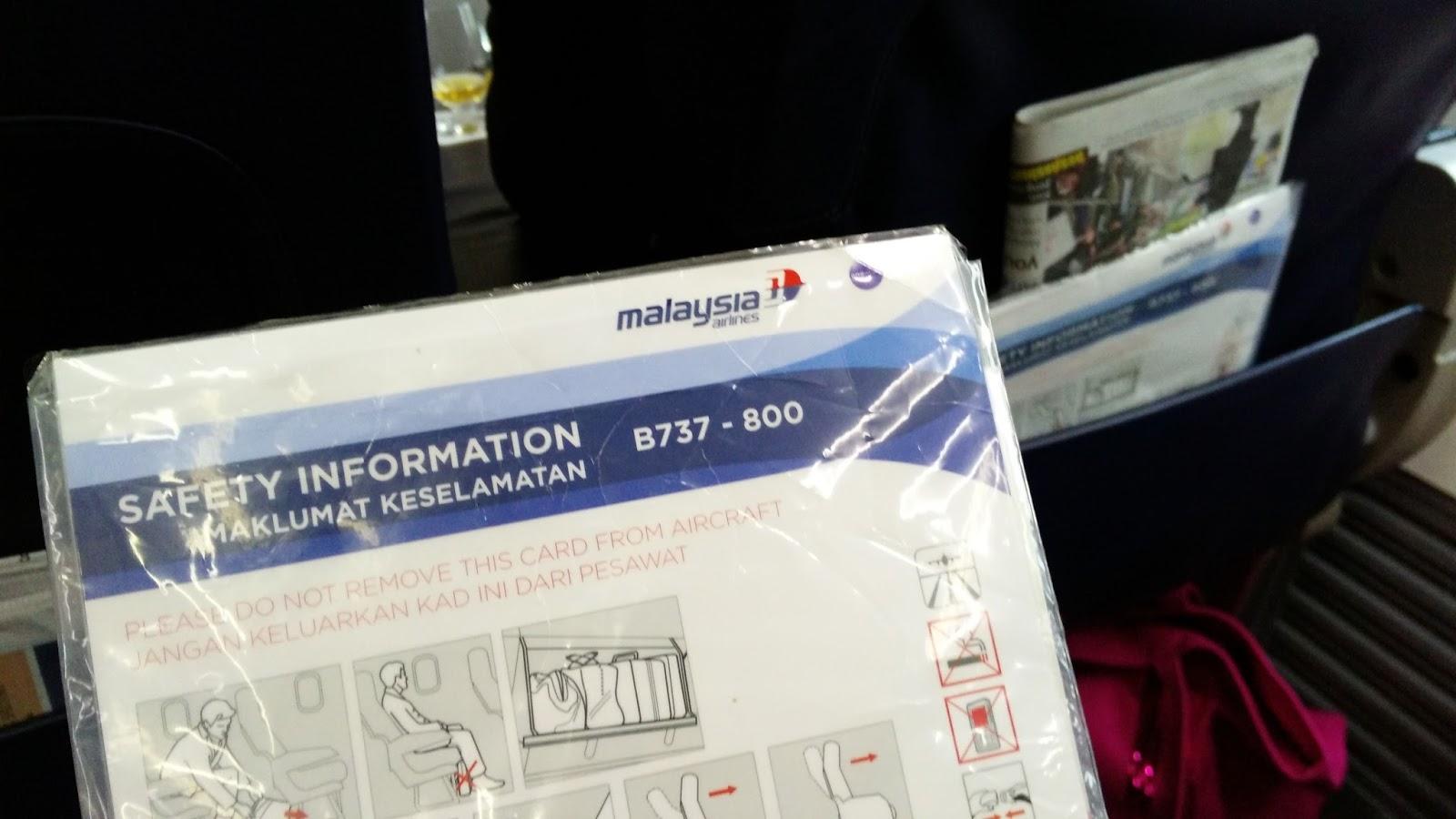 黑老闆說︱馬航台北-吉隆坡航線選派的是B737-800客機。