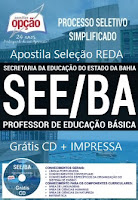 Apostila concurso SEE-BA PROFESSOR DE EDUCAÇÃO BÁSICA.