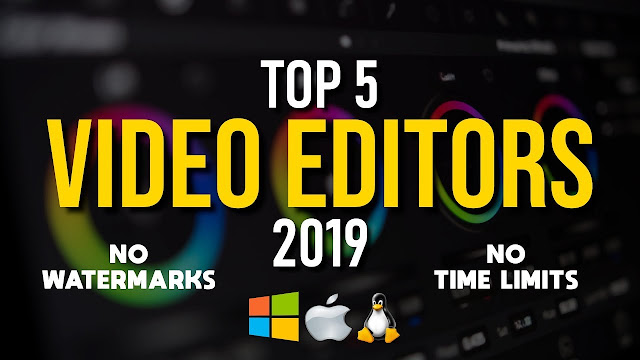 Top Best Video Editor Software in 2019