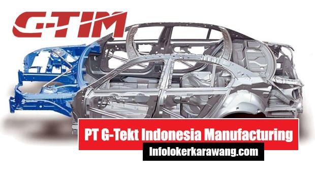 PT G-Tekt Indonesia Manufacturing Karawang