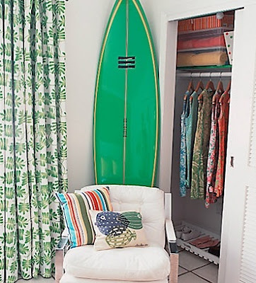 Decorating Ideas with Surfboards