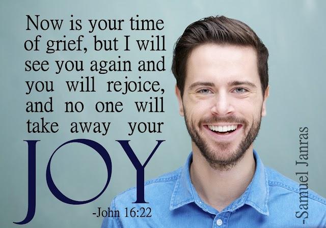 No one will take away your Joy