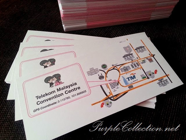 concert ticket, theme, wedding, marriage, pink, white, pearl, kuala lumpur, print, selangor, malaysia, jb, singapore, johor bahru, penang, perak, pahang, kuantan, cetak, kad kahwin murah, art card 260g, handmade, hand craft, unique, special, personalized, personalised, modern, 2014, telekom malaysia convention centre, print map, cetak peta lokasi