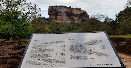 Pilgrimage place in Sri Lanka - Sigiriya