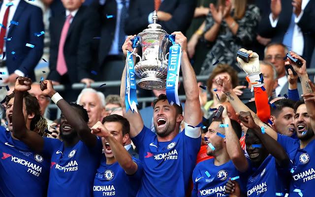 Chelsea: Eden Hazard Tempat Untuk Tenggelamkan Manchester United dan Memenangkan Piala FA