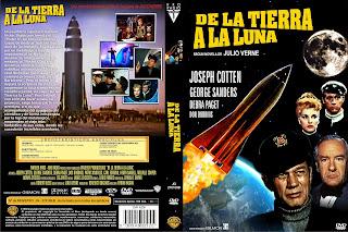 Carátula dvd: De la Tierra a la Luna