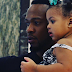 Cute photo of Flavour and his daughter with Anna Banner