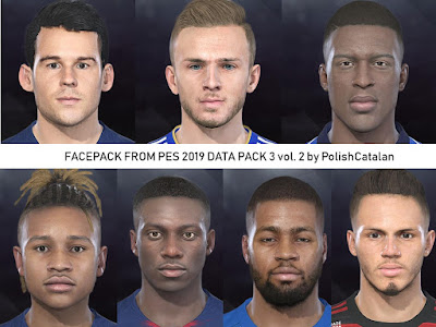 PES 2018 Faces Converted by PolishCatalan vol. 2 From PES19