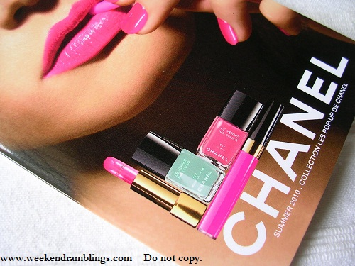 Chanel Summer 2010 Makeup Collection - Les Pop Up De Chanel - Photos - Swatches