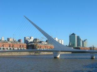 Ponte de La Mujer - Puerto Madero