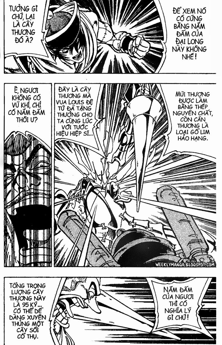Shaman King [Vua pháp thuật] chap 155 trang 8