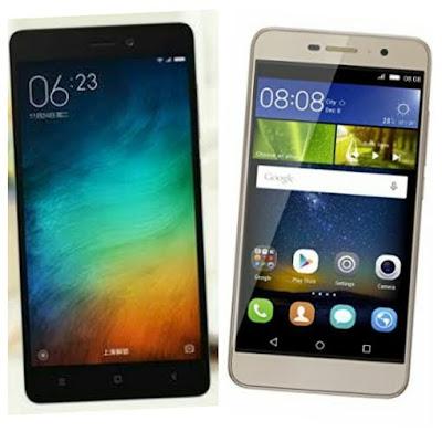 Xiaomi Redmi 3 Vs Honor Holly 2 Plus