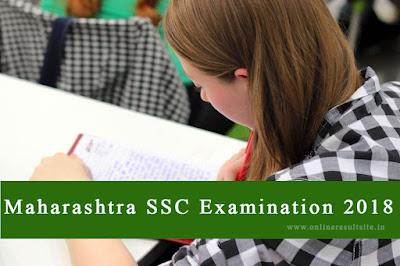 maharashtra SSC time table 2018