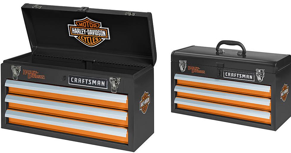 Craftsman Harley Davidson 3 Drawer Portable Tool Chest 49 99 Reg