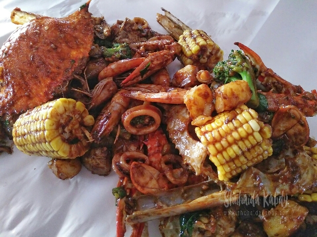 Seafood & Shellout di Apss Hotel Kuala Selangor