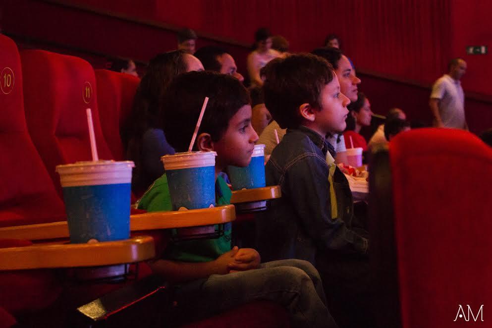 Sessão Azul: Cinema adaptado para criança autista