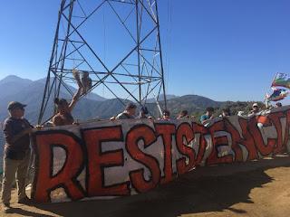 COMUNICADO :Comuneros y habitantes del territorio de La Dormida