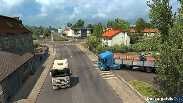 Euro Truck Simulator 2 Vive la France Español PC-Juego