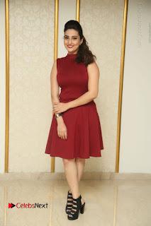 Telugu Tollywood Anchor Manjusha Pos in Red Short Dress  0156.JPG