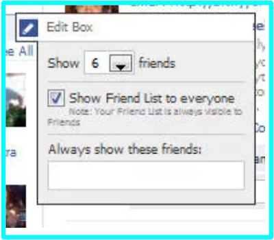 Hide Friends List On Facebook
