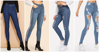 new fashion jeans for girl 2019